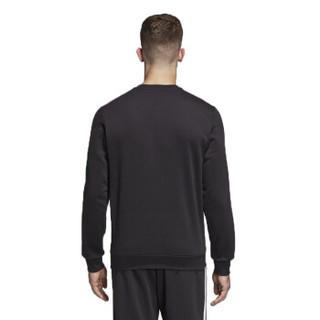 阿迪达斯 ADIDAS 男子 男子训练系列 E 3S CREW FT 运动 卫衣 DQ3083 L码