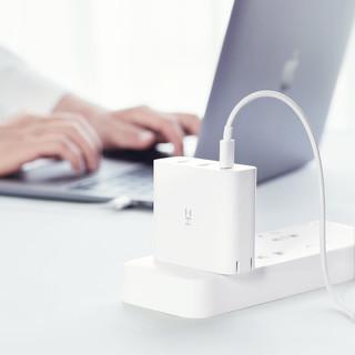 ZMI 紫米 HA832 USB充电器 QC3 65W 3口 白色