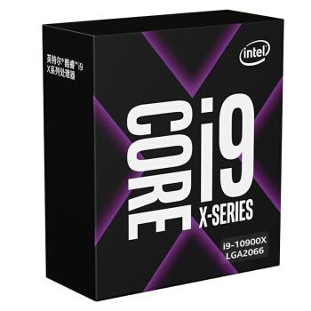 intel 英特尔 Core 酷睿 i9-10900X 盒装CPU处理器