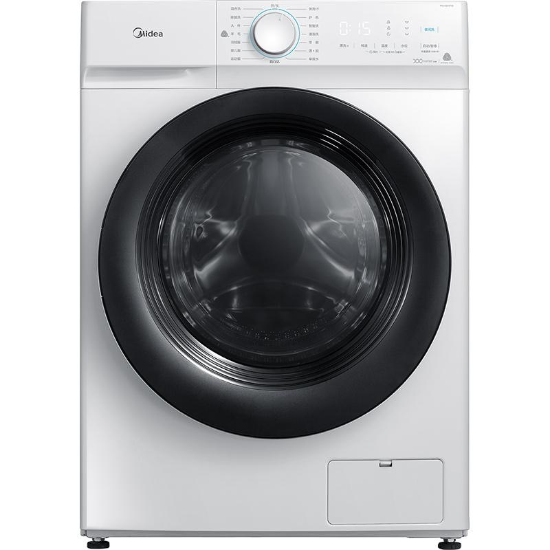 Midea 美的 MG100V11D 10公斤 滚筒洗衣机 白色