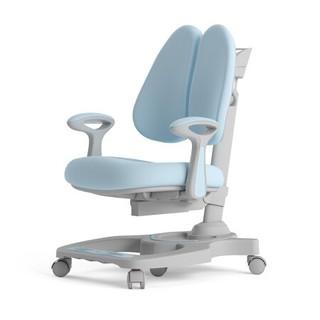 HbadaStudy time 黑白调学习时光 HETY024UG 儿童学习椅 缤果双背蓝