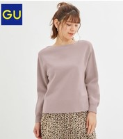 GU 极优 324506 女士针织衫