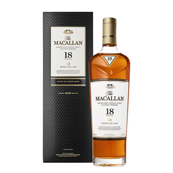 MACALLAN 麦卡伦 5087 18年700ml 苏格兰单一麦芽威士忌进口洋酒-雪莉桶