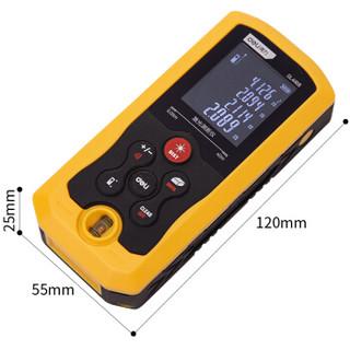 得力(deli) 手持式激光测距仪高精度电子尺红外量房仪40米 卷尺 DL4168