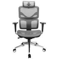 享耀家 SL-T3A 人体工学椅 网布版 格调灰
