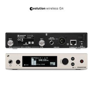 森海塞尔(SENNHEISER)EW 300 G4-HEADMIC1-RC 头戴无线话筒(麦克风)套装 演出、会议演讲、真人秀