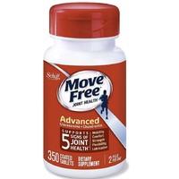 Schiff Move Free 葡萄糖胺和软骨素高级关节补充剂片(1瓶350粒)