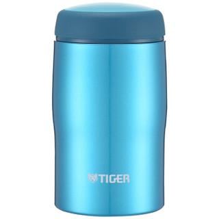 虎牌(Tiger)不锈钢保温杯原装进口男女水杯MJA-B024-ABT水蓝色240ML
