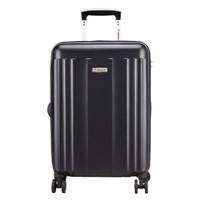 外交官(Diplomat)拉杆箱磨砂面旅行箱TSA密码箱行李箱登机箱 升级版双排轮TCF-15172黑色20英寸