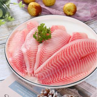 翔泰 国产海南冷冻鲷鱼柳/鱼片1kg/袋(5-7片)
