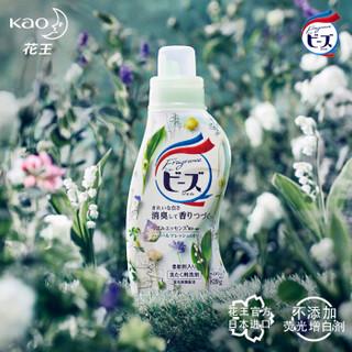 花王(KAO)馨香洗衣液清新草本香组合 日本原装进口 天然植物精油 柔软成分