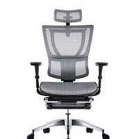 Ergonor 保友办公家具 家用电脑椅 银白色 优Ioo高配版