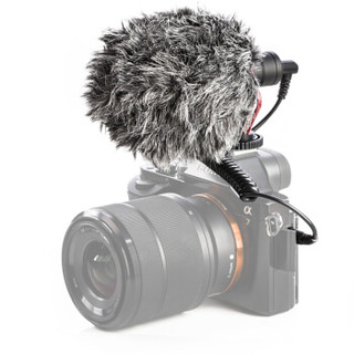 BOYA 博雅BY-MM1单反录音话筒采访麦克风DV相机灵犀摄影录音专业麦克风手机直播户外收音电容麦 BY-MM1