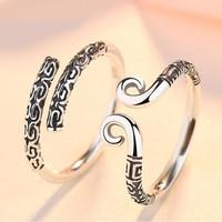 黛珍芙 925银戒指 男款