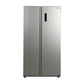 Panasonic 松下 NR-EW57S1-S 570升 对开门冰箱