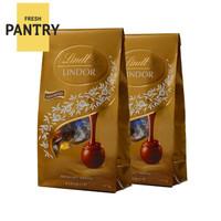 Lindt 瑞士莲混合4味巧克力软心球 125g*2袋 *2件