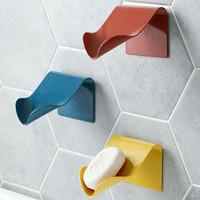 壁挂式沥水肥皂盒 颜色随机