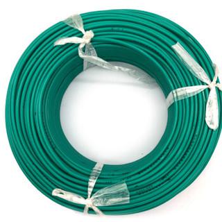 菊花 电线电缆ZR-BVR 6平方 阻燃单芯多股铜线 家装家用铜芯电线 100米 绿色火线