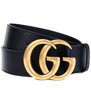 GUCCI 古驰 GG系列 男士双G板扣腰带 4cm