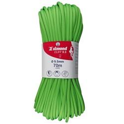 攀岩绳索 9.5 x 70 m 绿色