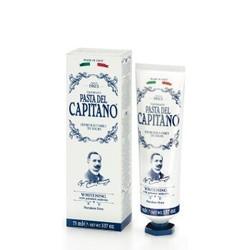 德康美 PASTA DEL CAPITANO 老船长意大利原装进口经典牙膏 洁齿去渍 固齿 靓白玉齿牙膏75ml *2件