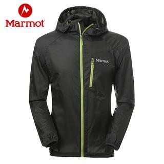 考拉海购黑卡会员 : Marmot 土拨鼠 Trail Wind Hoody 男士皮肤风衣