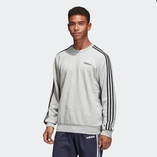 阿迪达斯官网 adidas E 3S CREW FT 男装运动型格卫衣DU0486
