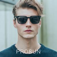 PROSUN保圣新款方形太阳镜男女韩版偏光墨镜明星同款PS5001