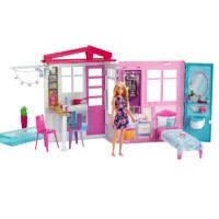 芭比之闪亮度假屋 Barbie House House W/ Doll 连续多年芭比明星单品 - FXG55