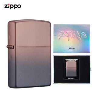 之宝(Zippo)   无界焕色-刚毅黑金 ZCBEC-106 PPG喷漆 煤油防风火机