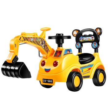 拥抱熊 TC-dhwtj-ls 挖掘机滑行车 末非黄(1-4岁)