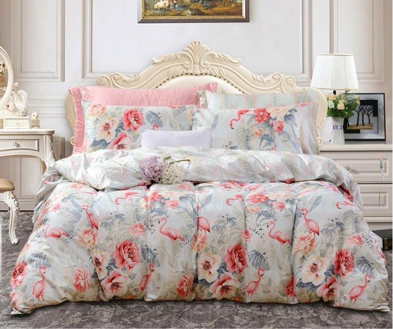 St.fiore 圣之花 纯棉套件系列 床上四件套 歌如 1.8m