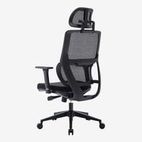 UE 永艺 CLF-268E  人体工学椅子电脑椅 黑色