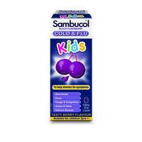 银联爆品日、凑单品:Sambucol 儿童黑接骨木糖浆 120ml
