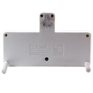 久好JH-312一转四分控开关带儿童安全保护门转换器新国标插座转接插头接线板