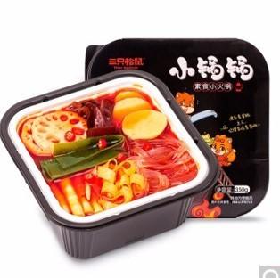三只松鼠 素食小锅锅 350g/盒