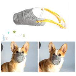 宠物狗狗口罩防雾霾3只装*2 *2件