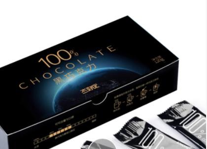 态好吃 100%可可纯黑巧克力礼盒 120g *3件