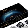 态好吃 100%可可纯黑巧克力礼盒 120g*2