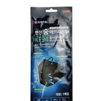 限北京:多点 韩国 KF94 成人防护口罩 1片装 *3件
