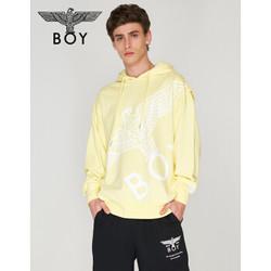 BOY LONDON 2020老鹰印花英文字母刺绣卫衣B201NBT01907 黄色-尺码偏大 M-尺码偏大
