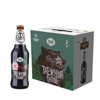 情人节活动:俄罗斯王冠精酿 棕熊(烈性世涛) 整箱440ml*6瓶 *2件
