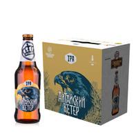 情人节啤酒五折俄罗斯王冠精酿 鹰(IPA) 整箱440ml*6瓶 *2件