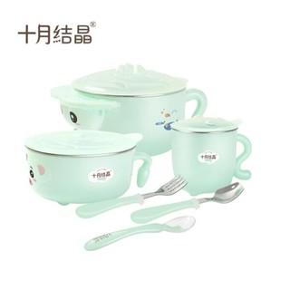 十月结晶 婴儿碗勺餐具套装 *2件 +凑单品