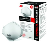 SAS 8610 n95级 防护口罩 20只装 *2件
