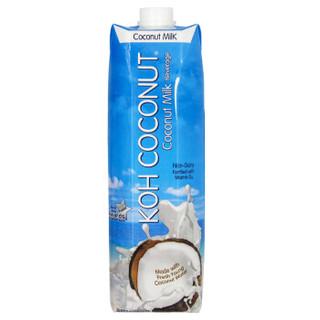 泰国原装进口 酷椰屿(KOH COCONUT) 椰汁饮料1L*6瓶