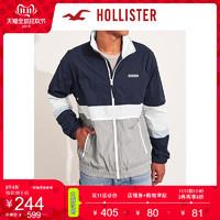 Hollister2019年秋季新品全拉链企领风衣 男 106330-1