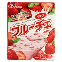 日本进口 好侍House  草莓奶昔基料调味粉 200g *3件