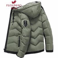 Fuguiniao 富贵鸟 18826 连帽保暖棉衣外套