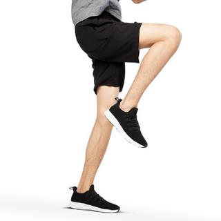 范迪慕 运动裤男士新品篮球短裤吸湿宽松运动健身短裤简约五分裤 CP001-黑色-男款短裤-XXL